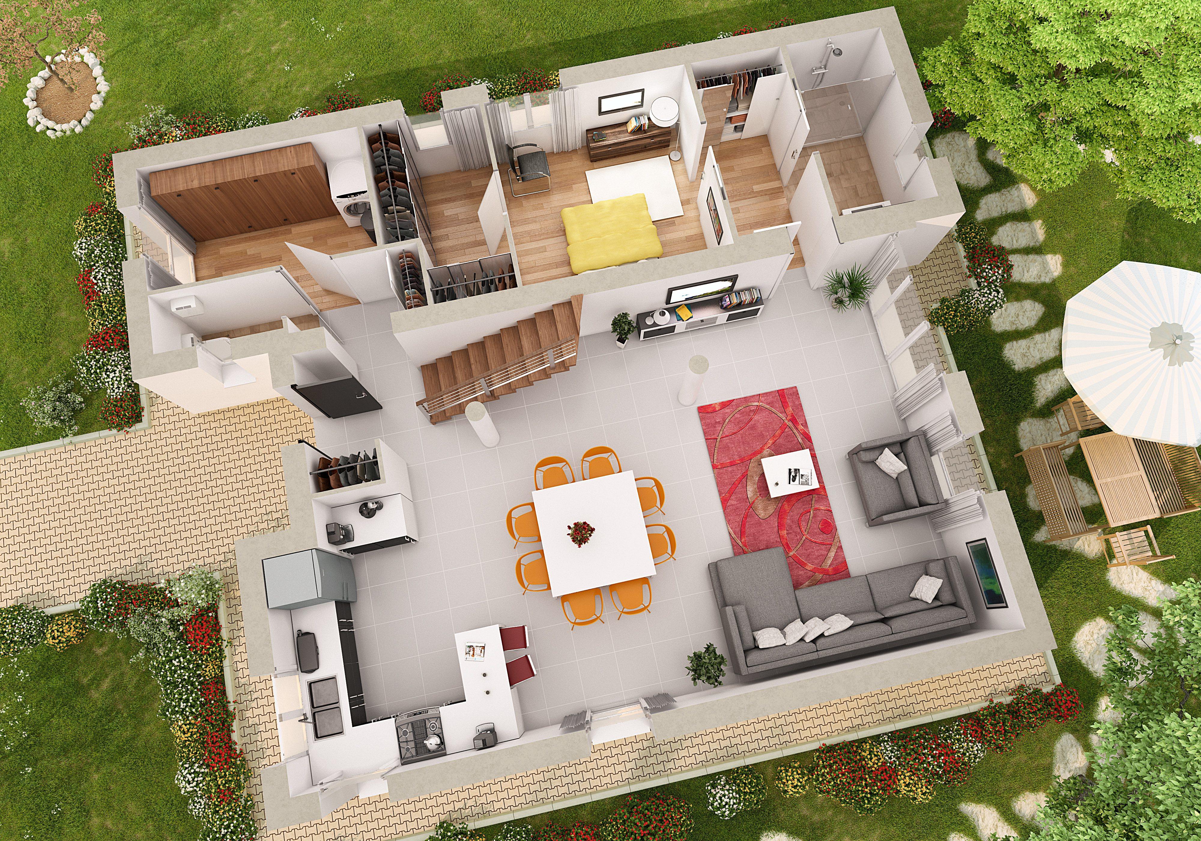Plan Et Mod Le Gite Maison D 39 H Te