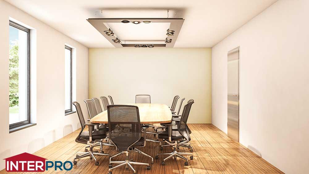 Plan cabinet de notaire construction neuve