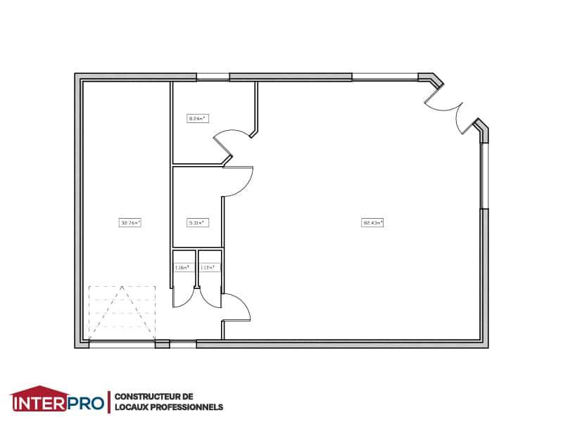 Plan b timent industriel construction neuve for Plan de batiment industriel
