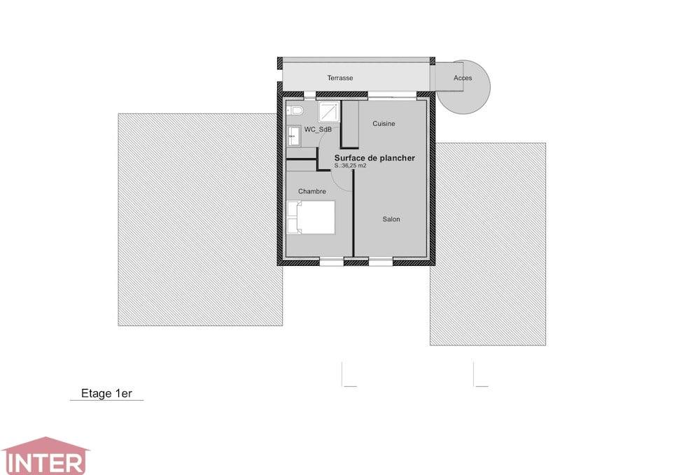Plans bureaux contemporains design